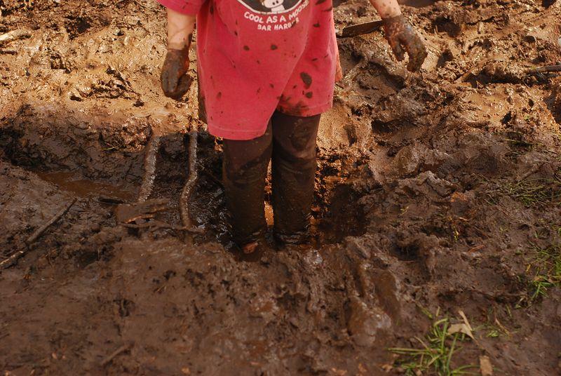 Mud, birthday,studio mess 099